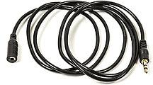 Аудио кабель PowerPlant 3.5 mm M-F 1.5 м