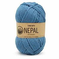 Пряжа DROPS Пряжа DROPS Nepal Цвет.8783 Forget me not