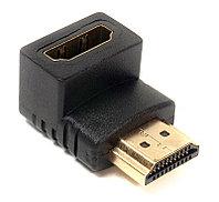Переходник PowerPlant HDMI AF - HDMI AM, нижний угол
