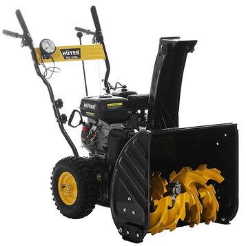 Снегоуборщик Huter SGC 4100L, бензиновый, 5.5 л.с., захват 56/54 см, ск. 5/2, ручной старт