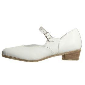 Туфли народные женские, длина по стельке 19,5 см, цвет белый - фото 2