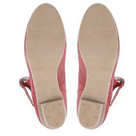 Туфли народные женские, длина по стельке 24 см, цвет красный - фото 5