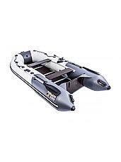 Лодка ПВХ Ривьера Компакт 3200 СК комби светло-серый/графит, фото 2