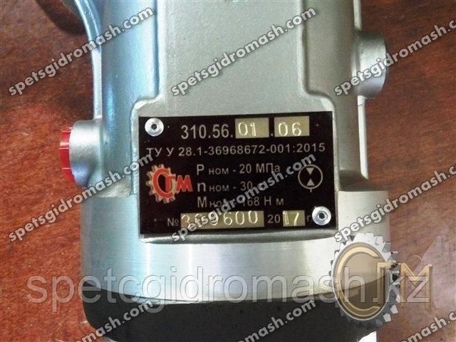 Гидромотор 310.56.01.06 аксиально-поршневой нерегулируемый шпоночный вал