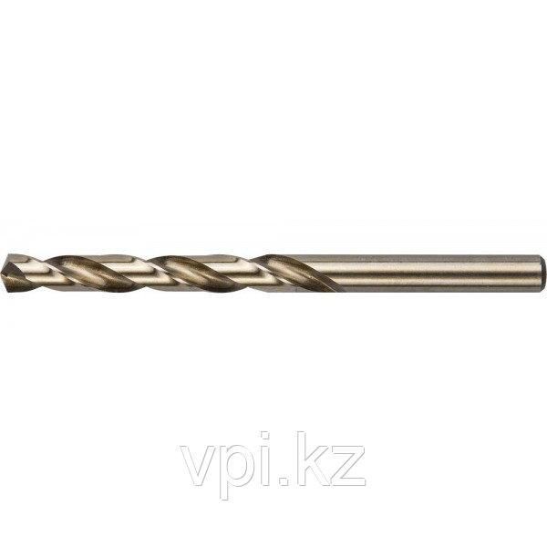 Сверло по металлу, кобальт, Р6М5К5 6.7мм. ЗУБР Эксперт