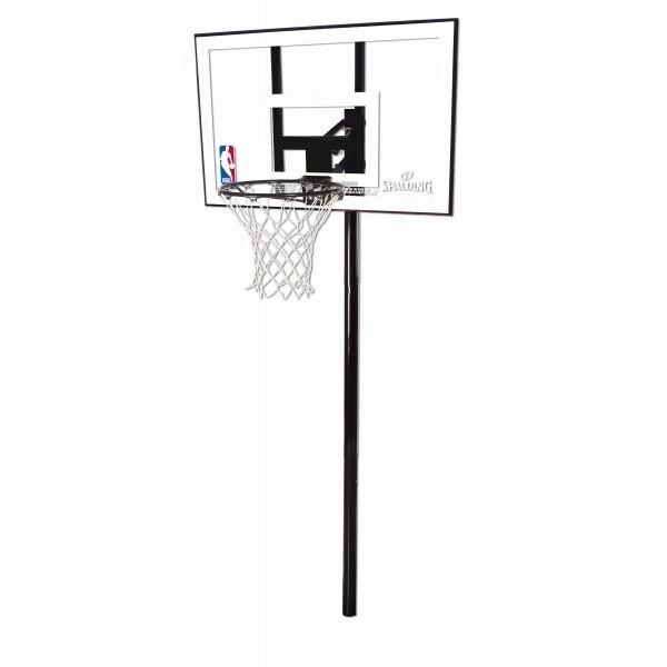 "Баскетбольная стойка SILVER IN-GROUND 44"", Polycarbonate"