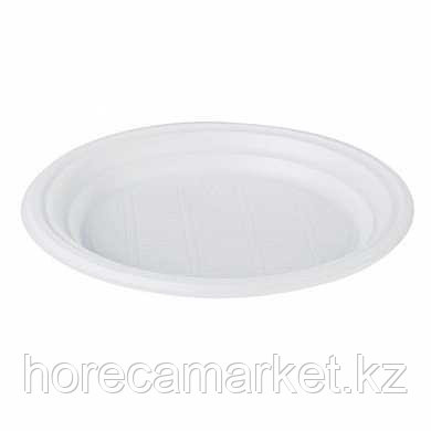 Пластиковая тарелка 21 см (100 шт)