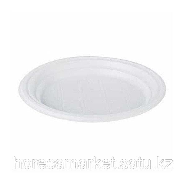Пластиковая тарелка 17 см (100 шт)