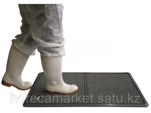 Коврик дезинфицирующий Dezmatta 64x95cm серый, фото 2