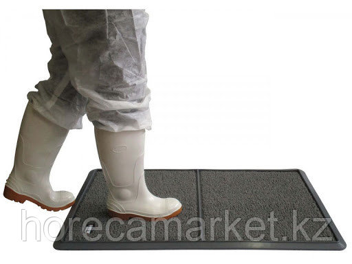 Коврик дезинфицирующий Dezmatta 90x120cm серый, фото 2