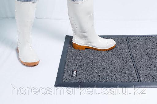 Коврик дезинфицирующий Dezmatta 64x95cm серый