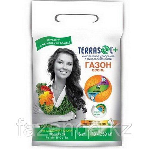 Удобрение Terrasol  для газона Осень 5 кг