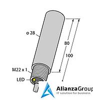 Емкостной датчик TURCK HC3-K28S-AP4X