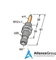 Магнитный датчик TURCK NIMFE-EM12/4.0L61-UN6X-H1141/S1182