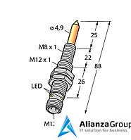 Магнитный датчик TURCK NIMFE-EM12/4.9L88-UP6X-H1141/S1182
