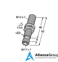 Магнитный датчик TURCK BIM-M12E-AP4X-H1141