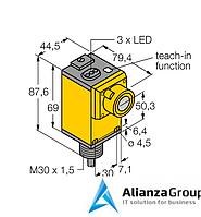 Ультразвуковой датчик TURCK Q45UBB63BC W/30
