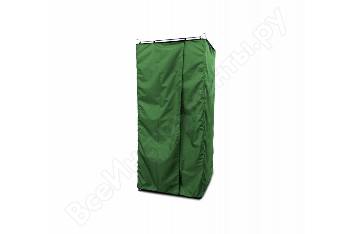 Дачная душевая кабина сборная без бака, зеленая Rostok