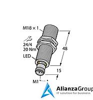 Ультразвуковой датчик TURCK RU40U-M18M-AP8X2-H1151