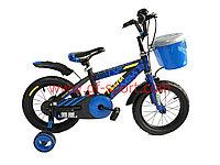 Велосипед Phoenix синий алюминиевый сплав оригинал детский с холостым ходом 12 размер