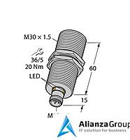 Ультразвуковой датчик TURCK RU300U-M30M-LFX-H1151