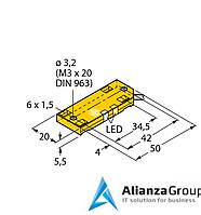 Емкостной датчик TURCK BC5-QF5.5-AN6X2/S250