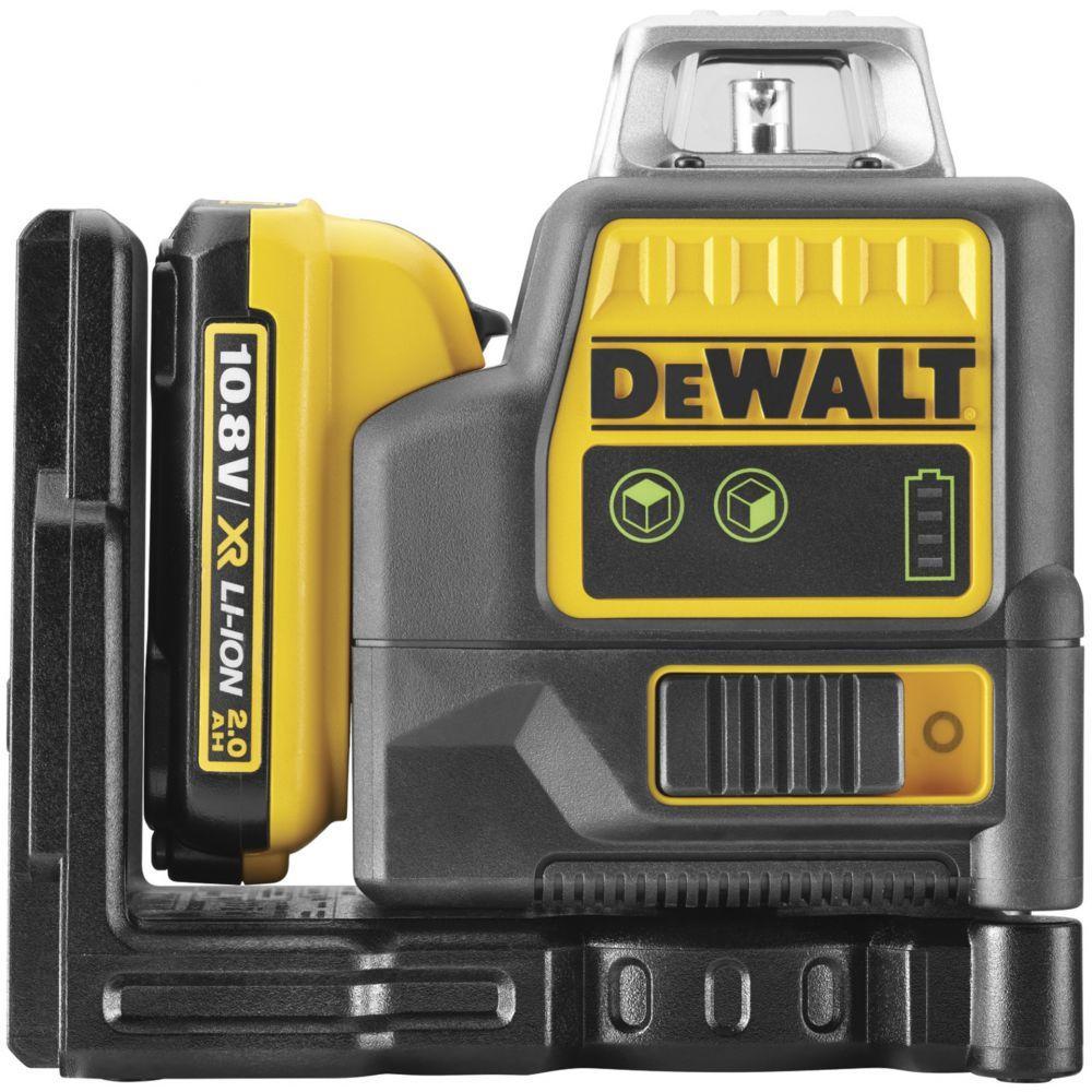 Лазерный уровень с зеленым лучом DEWALT DCE0811D1G