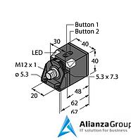 Ультразвуковой датчик TURCK RU200-CK40-LIU2P8X2T-H1151