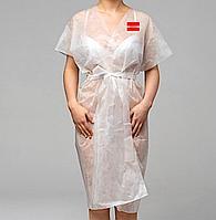 Халаты 10шт одноразовые кимоно без рукавов, фото 1