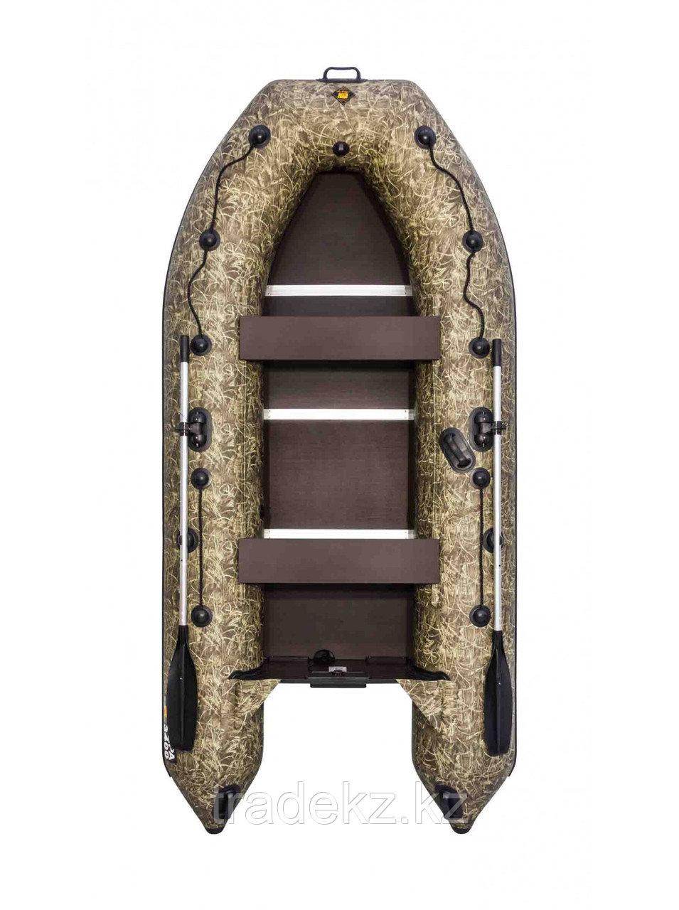 Лодка ПВХ Ривьера Компакт 3400 СК камуфляж камыш