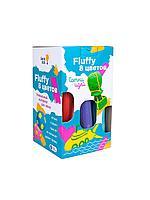 Пластилин Воздушный Fluffy Genio Kids 8 цветов