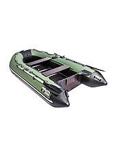 Лодка ПВХ Ривьера Компакт 2900 СК касатка зеленый/черный, фото 2