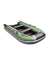 Лодка ПВХ Ривьера Компакт 2900 СК касатка зеленый/черный, фото 3