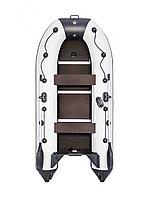 Лодка ПВХ РИВЬЕРА КОМПАКТ 3200 СК КАСАТКА СВЕТЛО-СЕРЫЙ/ЧЕРНЫЙ, фото 1