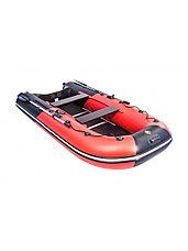 Лодка ПВХ Ривьера Компакт 3200 СК комби красный/черный, фото 3