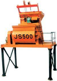 Бетоносмеситель двухвальный JS 500