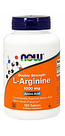 Now Foods, L-аргинин, 1000 мг, 120 таблеток.