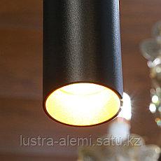 Светильник Подвесной SAT 60mm BK 7w, фото 2