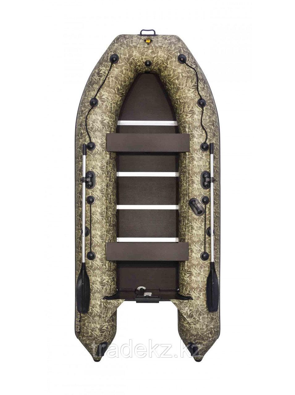 Лодка ПВХ Ривьера Компакт 3600 СК камуфляж камыш
