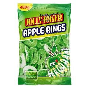 """Марм.жев. """"Яблочные кольца"""" 0.4 кг  /JollyJoker/Германия"""