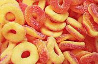 """Марм.жев. """"Персиковые кольца"""" 1.2 кг  /Trolli/Германия"""