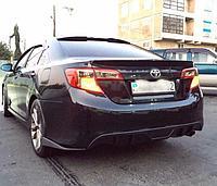 Элероны на задний бампер Тойота Камри 50, фото 1