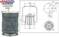 Подушка воздушная со стаканом (2 шп.+возд. / 4 отв. + шпилька) SAF