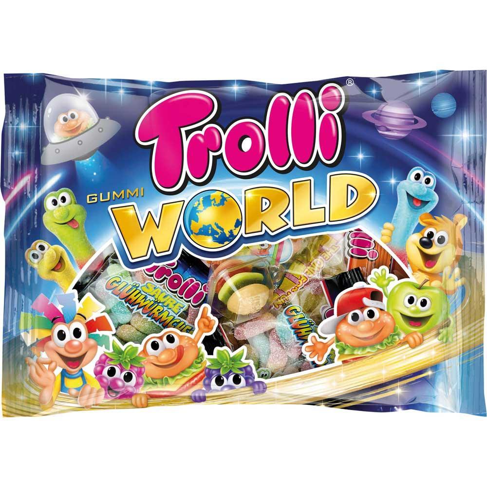 Набор сладостей Trolli World 450 гр.