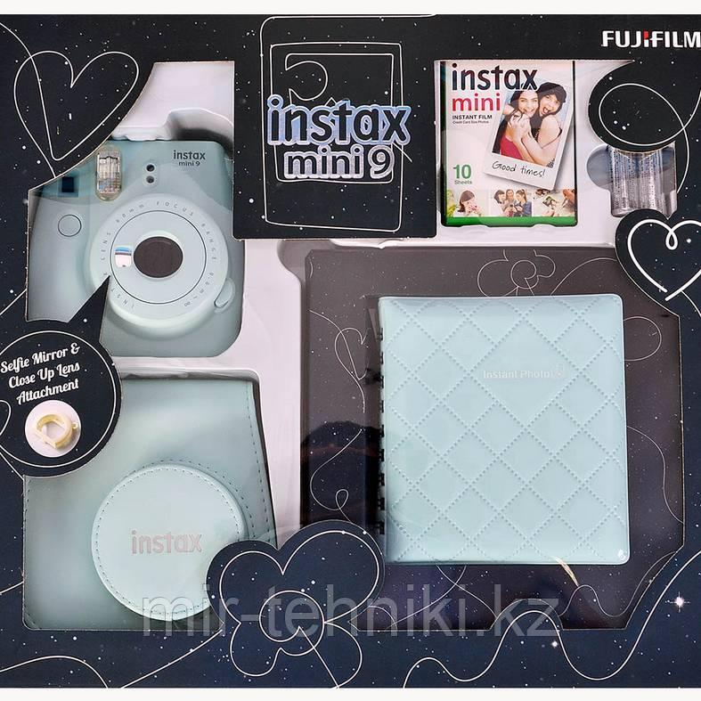 Подарочный набор Fujifilm Instax mini 9 Ice Blue