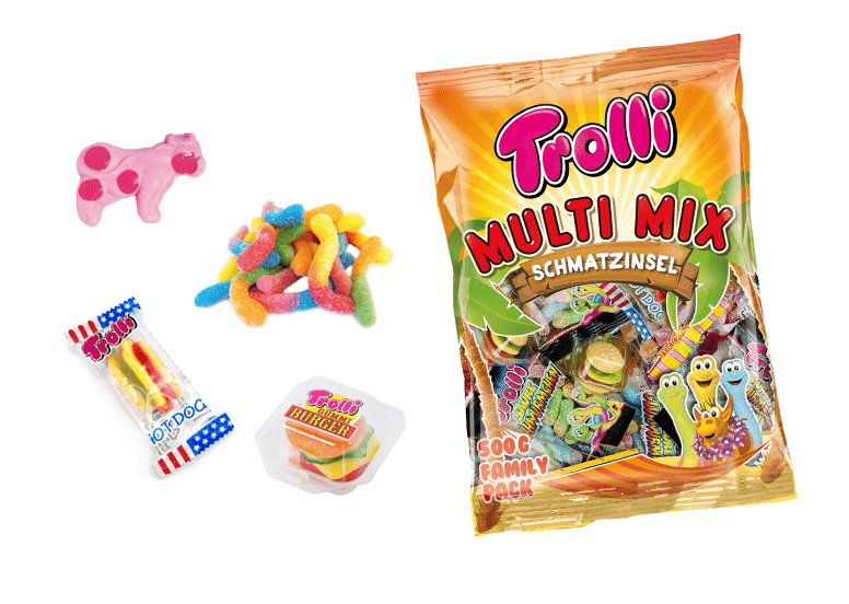 Набор сладостей Trolli Multi MIX 400 гр.