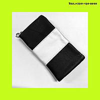 Чехол -кошелек для сотового телефона ,комбинированный