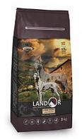 Сухой корм для собак крупных пород Landor Adult Large Breed Dog с ягненком и рисом