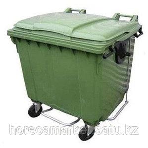 Контейнер для мусора 660 л с педалью