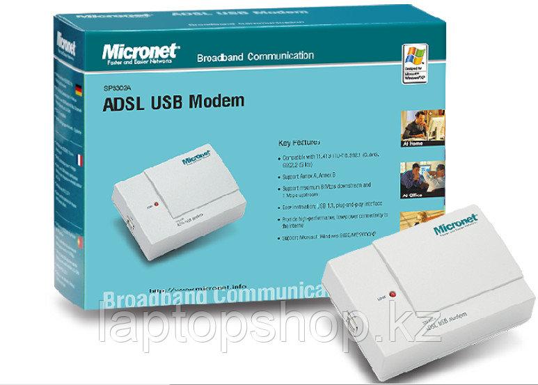Модем Micronet SP3302/A ADSL USB Modem, AnnexA (win ХР only)